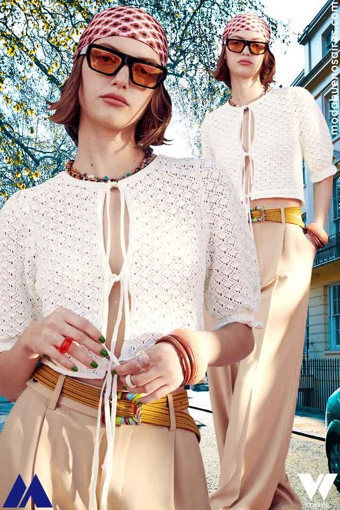 Moda tejidos 2022 verano mujer Zara