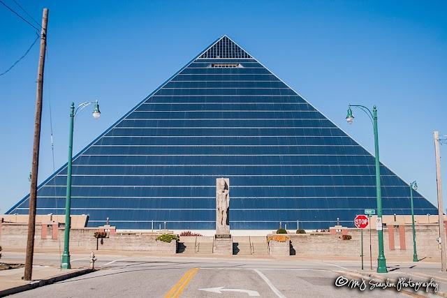 Memphis Grizzlies pyramid stadium arena