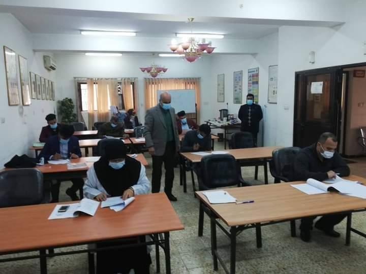 وزارة البترول العراقية تنهي دورة تدريبية للمستوى الثاني بالجزيئات المغناطيسية لمنتسببها