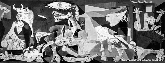 Guernica, de Pablo Picasso, Museu Reina Sofia, Madri