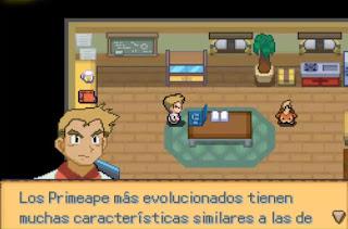 Pokemon El Eslabon Perdido para Android Casa Profesor Oak