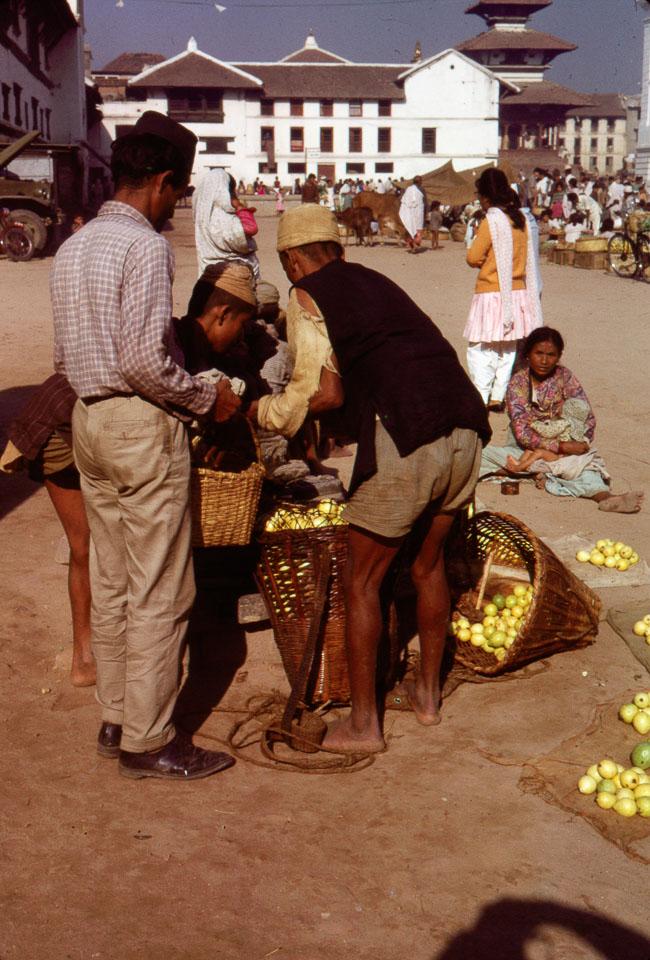 old photo of kathmandu