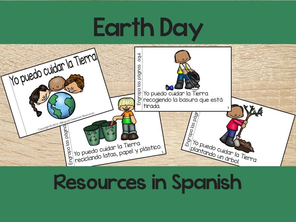 Earth Day Resources in Spanish/ El día de la Tierra