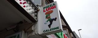 Pizza Luigi takeaway in Blackpool