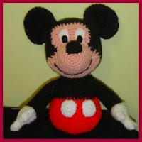 Mickey amigurumi