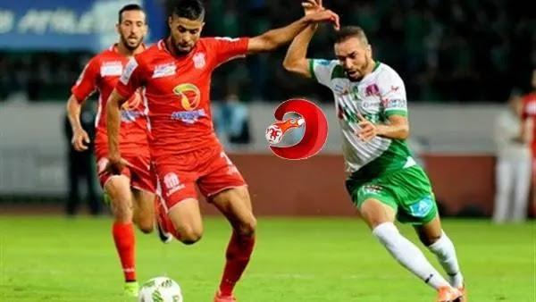 موعد مباراة الرجاء وحسنية أكادير الدوري المغربي