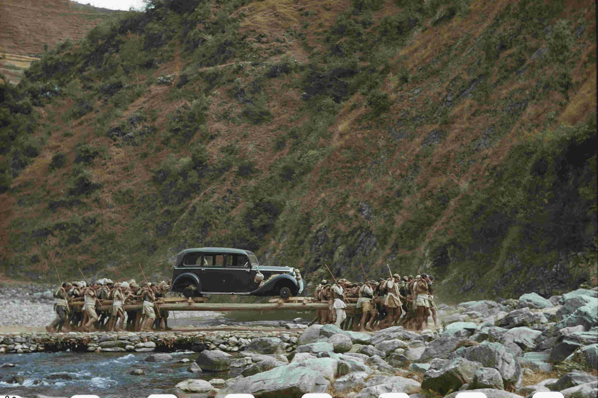 The first car of Nepal