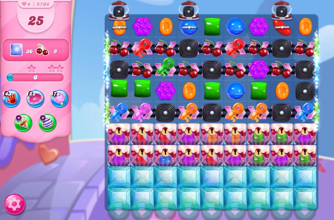 Candy Crush Saga level 5764