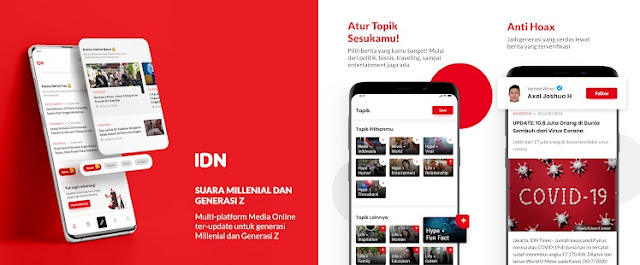 idn app milenial