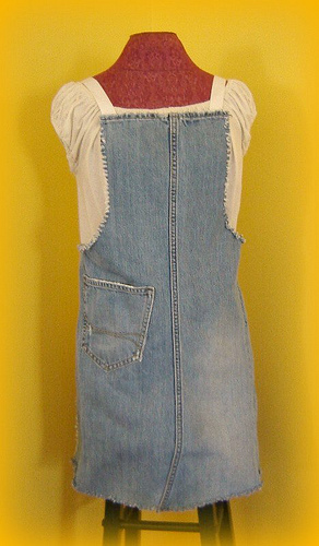 Cool Ways To Reuse Old Denim (30) 21