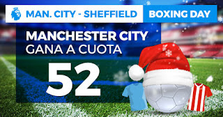 Paston Megacuota City vs Sheffield 29 diciembre 2019