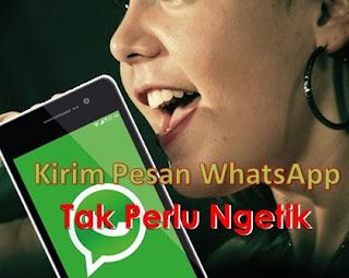 Cara Kirim Pesan Di Whatsapp Melalui Suara Tanpa Harus Ngetik