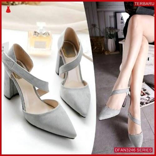 DFAN3246S39 Sepatu Us 06 Hak Wanita Tahu Sepatu BMGShop