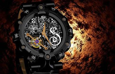 Arthur Oskar Stampfli Watch Limited Series 1916 Ocean Pearl Swirl Boon watch