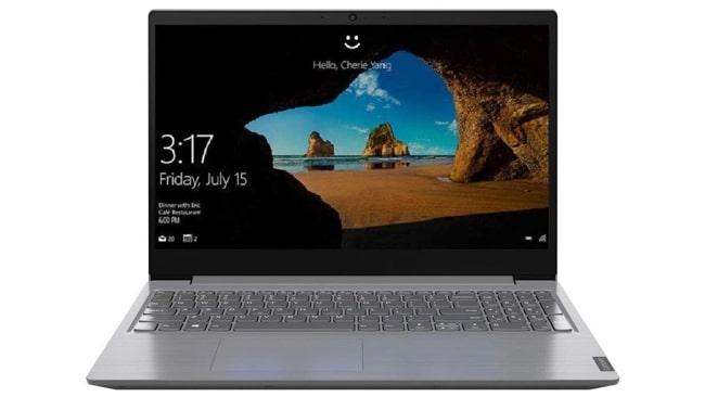 Lenovo V15 laptop.