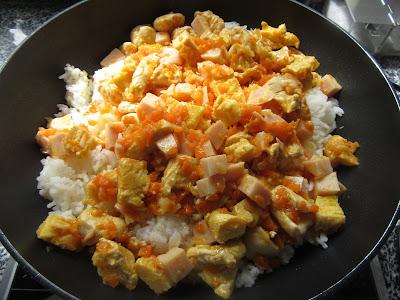 Arroz tailandés con pollo Thermomix