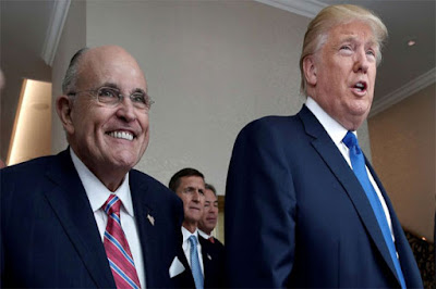 Giuliani Files Impeachment Papers For Pelosi on Behalf of the White House .