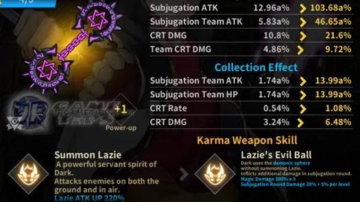 Lucid Adventure: Idle RPG - Dark Blessed Karma Weapons 2