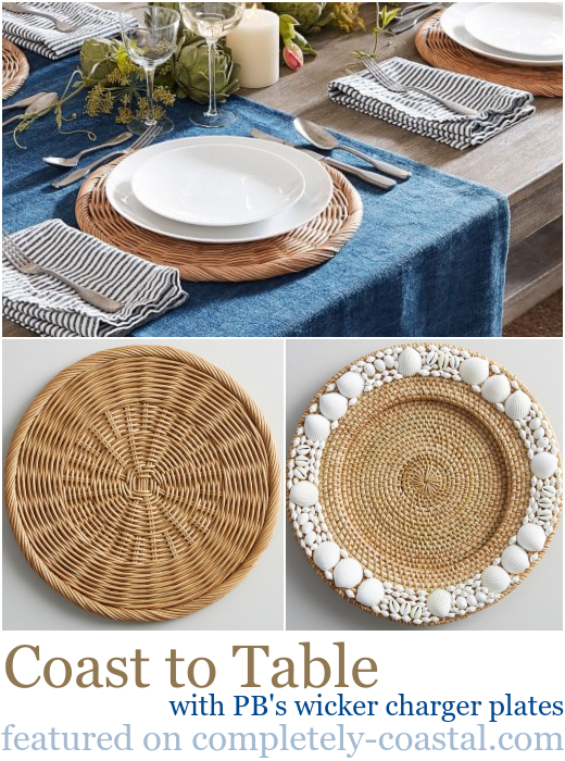 Wicker Charger Plates