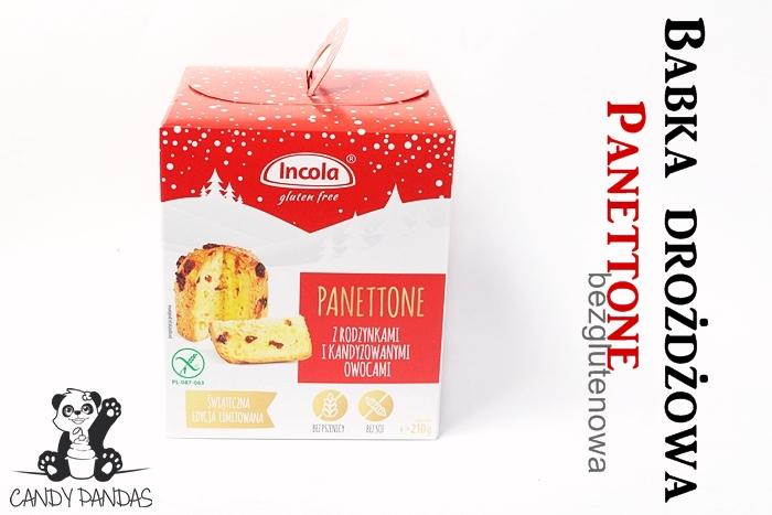 Babka drożdżowa Panettone – Incola Gluten Free