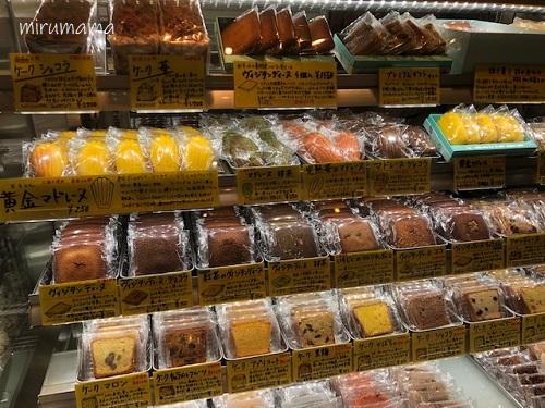 焼菓子コーナー