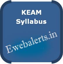 KEAM Syllabus
