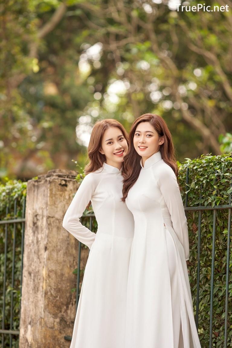Image Vietnamese Model - Vietnamese Student Dresses (Ao Dai) - TruePic.net - Picture-8