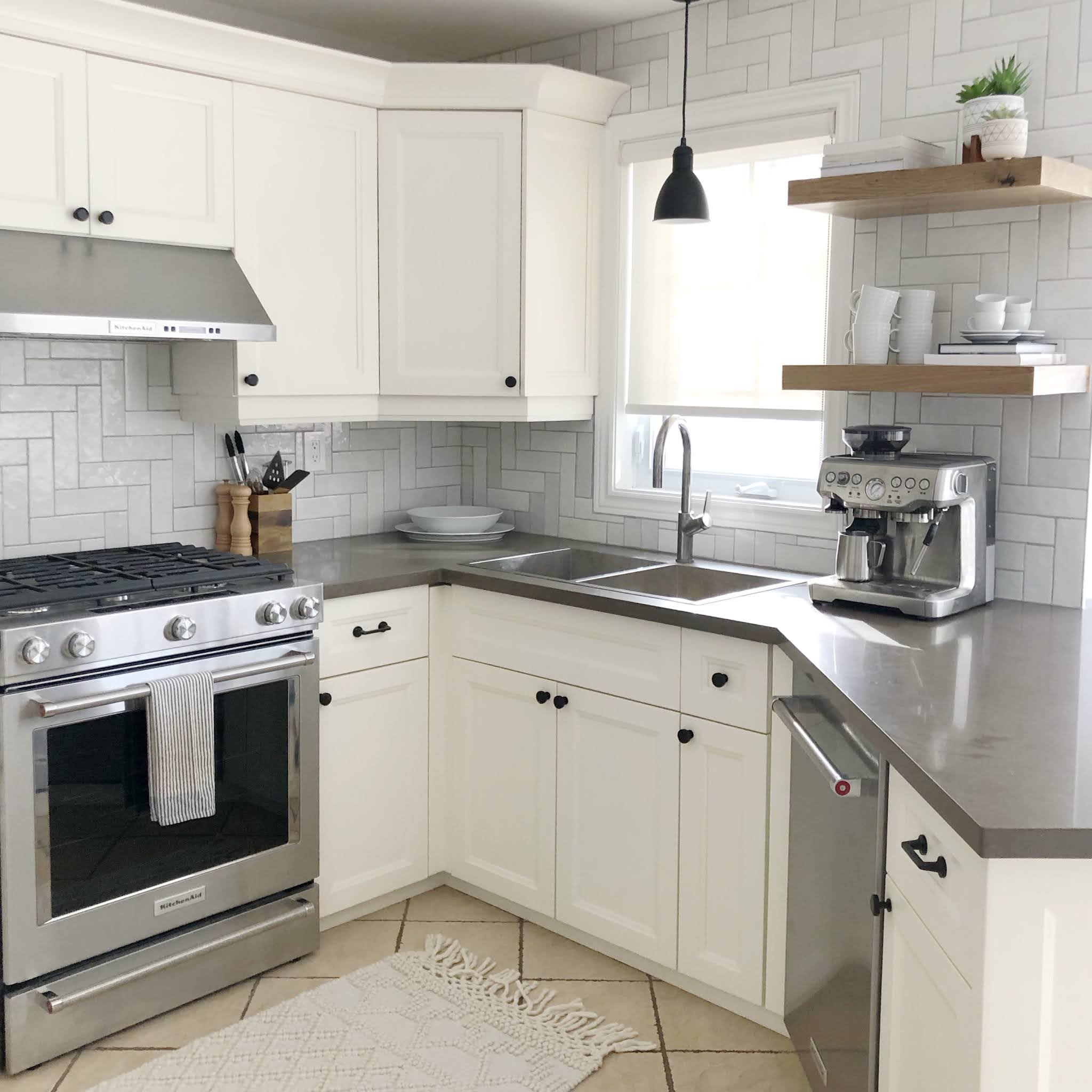 carriage hill project reveal - kitchen after