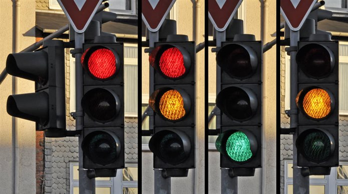 Sarı Trafik Lambası / Sarı olan şeyler