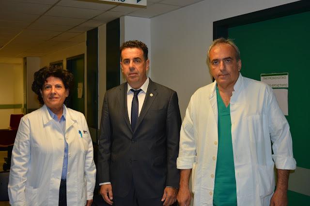 Δημήτρης Κωστούρος: Σε εγρήγορση για το νοσοκομείο