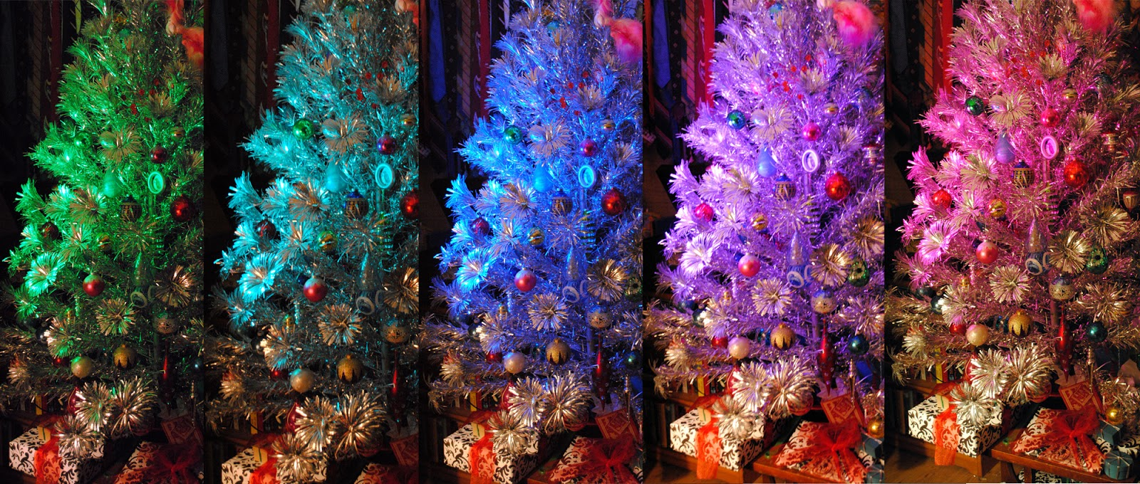 Four And Twenty: Junk Love Monday: Holy Silver Tinsel Tree
