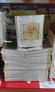 Tempat Percetakan Buku Yasin Biasa, Bludru, Sued, Hard Cover Di Bengkulu