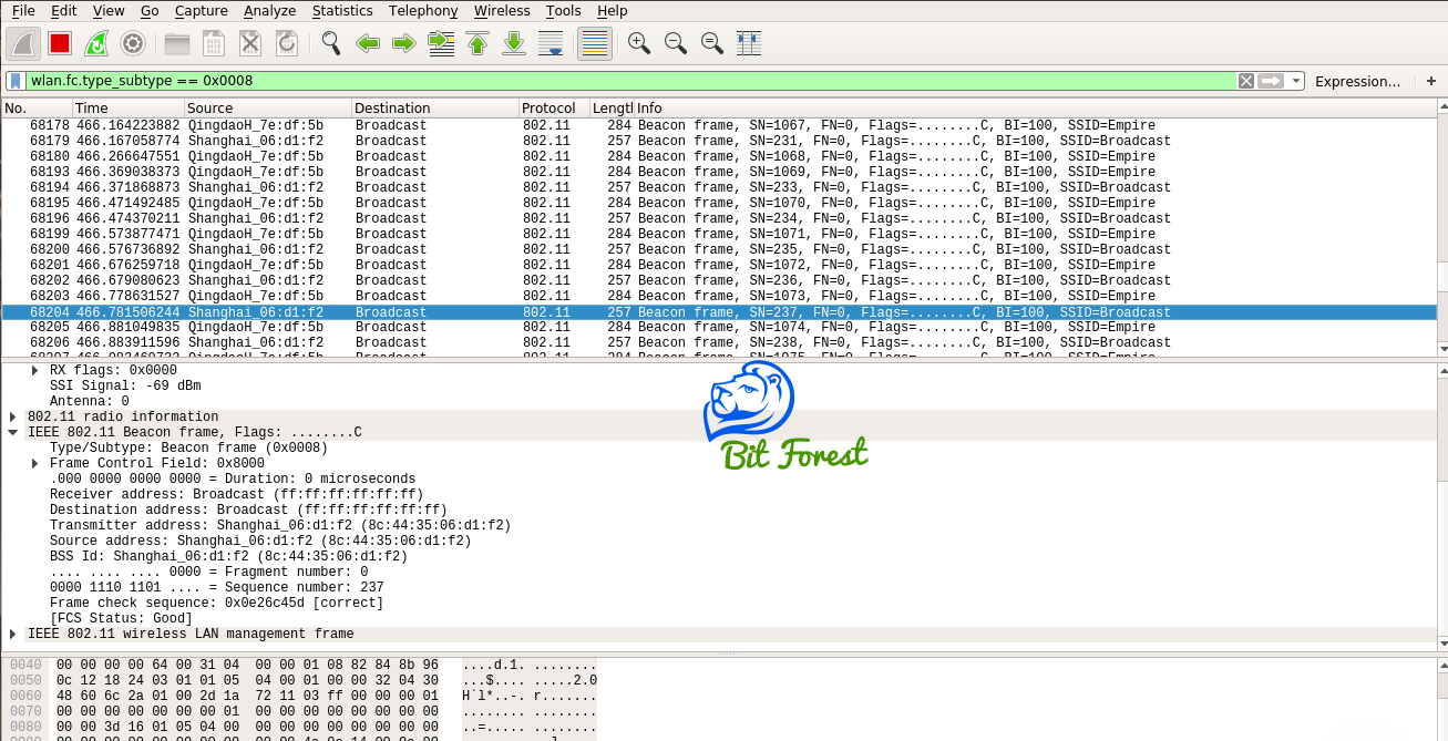Find Hidden Wireless SSID Using Wireshark and Kali Linux