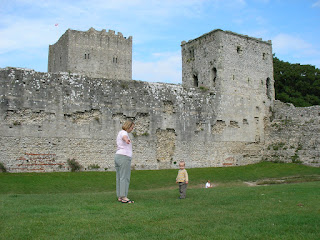 keep of portchester castle