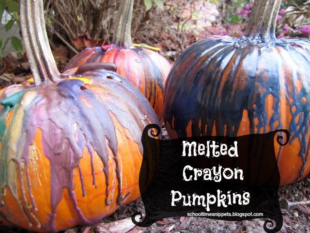 cool no-carve pumpkin decorating idea for kids
