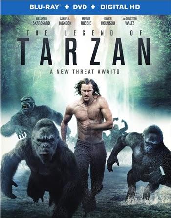 The Legend of Tarzan 2016 English 720p BRRip 999mb