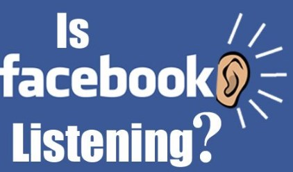 facebook listening to your conversations