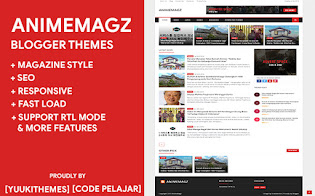 AnimeMagz v1.1.2 Blogger Themes