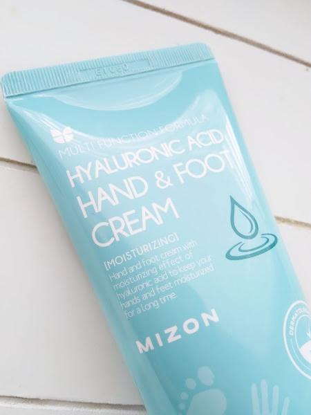 Mizon Hyaluronic Acid Hand & Foot Cream kasivoide jalkavoide