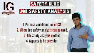 Job safety analysis   Safety blog