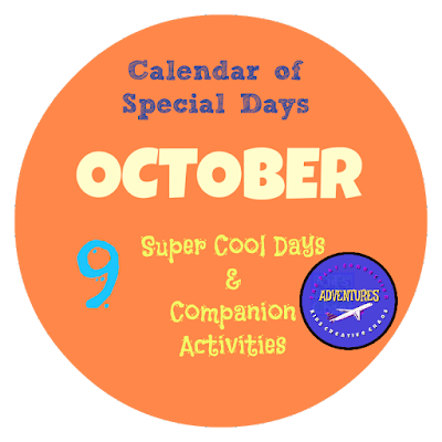 October Calendar of Special Days and Unique Holidays for Kids 2020