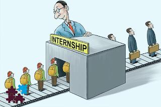 معنى internship