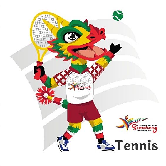 Tenis ASEAN Schools Games 11: Drawing & Jadwal Pertandingan Nomor Perorangan