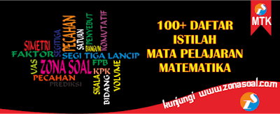 100+ Daftar Istilah dalam Mata Pelajaran Matematika