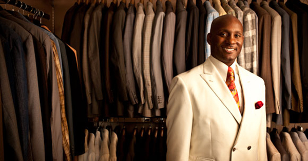Montee Holland, founder of Tayion Suits