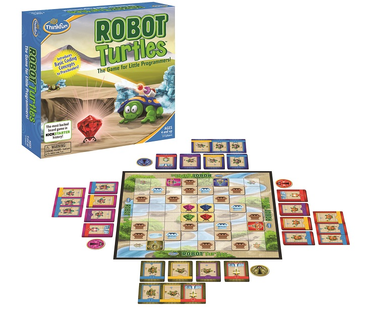 Robot Turtles: The Game for Little Programmers