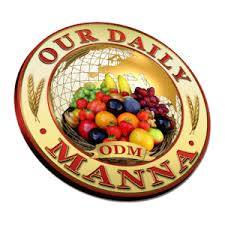 Our Daily Manna December 23, 2017: ODM devotional: When You Are Dry