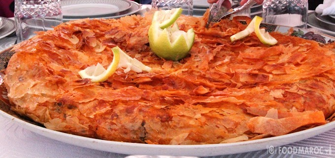 moroccan pastilla with fish