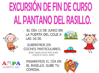 EXCURSIÓN FINAL DE CURSO