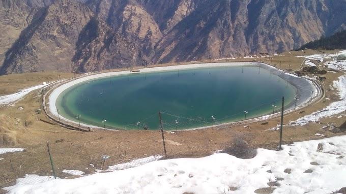Auli Artificial Lake in Chamoli Travel Guide